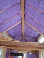 A sanded ridge beam!