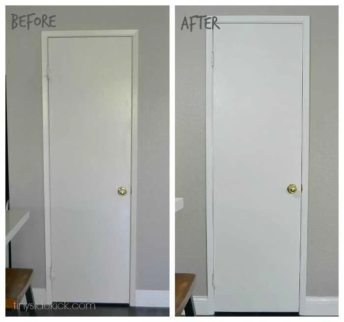 How to paint interior doors with sprayer for How to spray paint doors