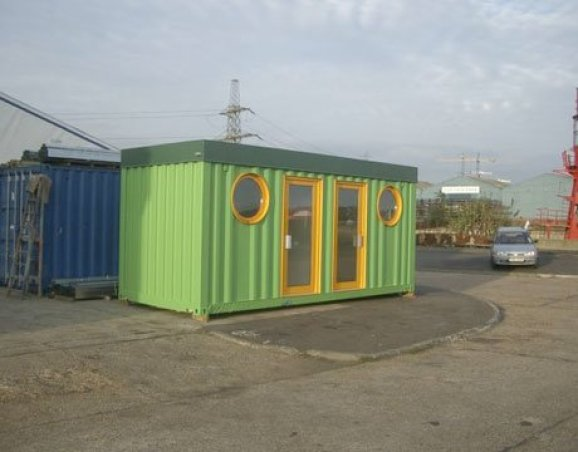 green container home