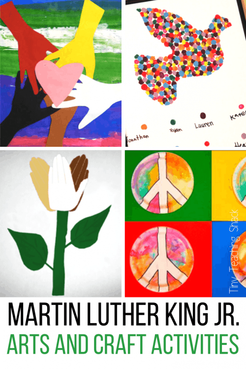 martin luther king art activities for kids