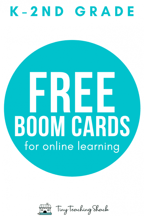 free online learning program Boom Cards