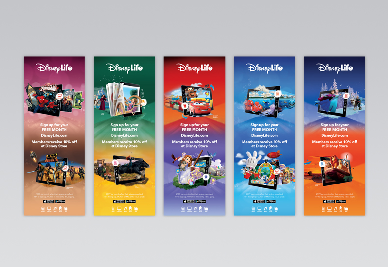 Disney Life Web Banners