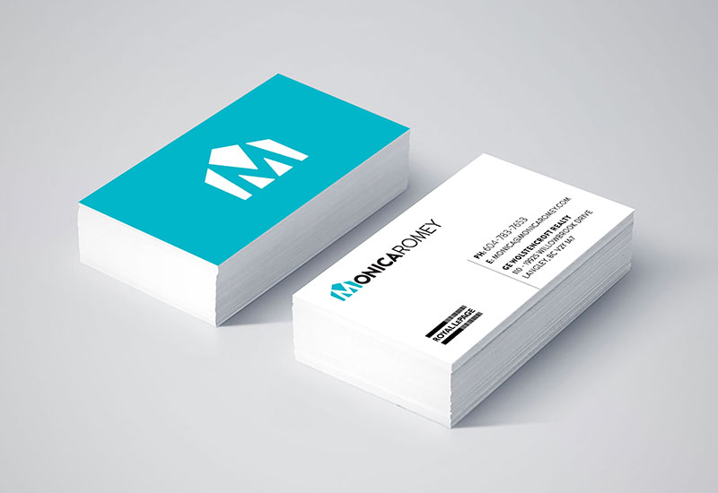 Monica Romey Business Cards