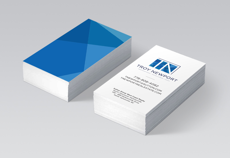 Troy Newport Business Cards