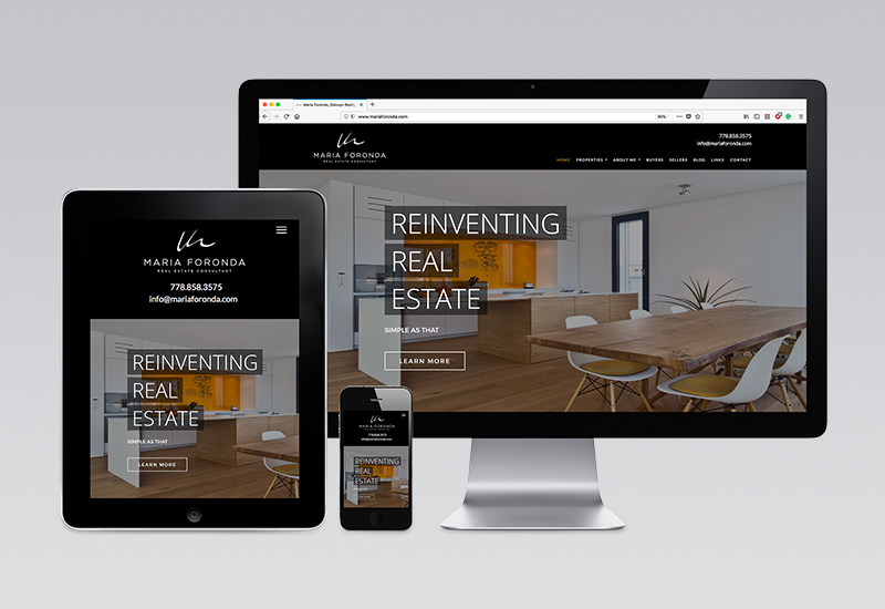Maria Foronda Website