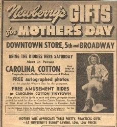 meet Carolina Cotten at Tiny Town