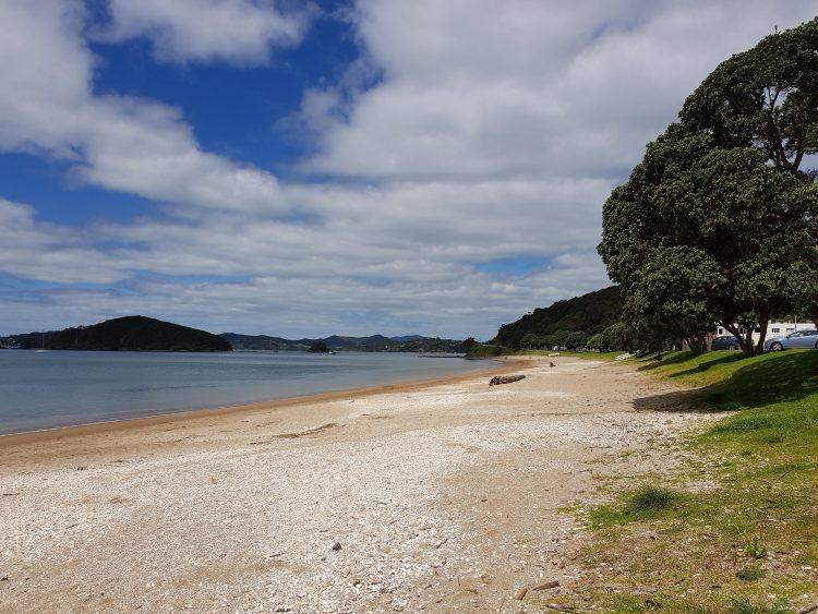 The beach at Paihia