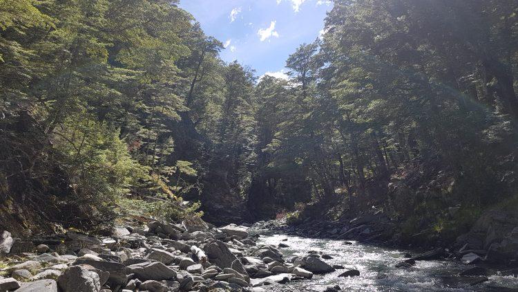 Te Araroa Trail Timaru River