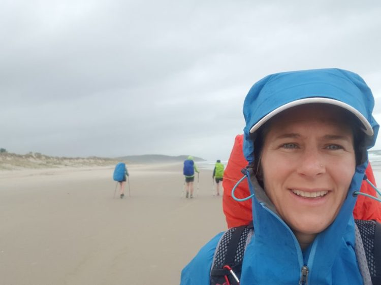 Te Araroa Day 21 - Rainy beach day