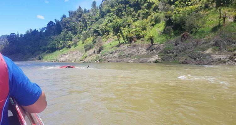 Te Araroa Trail Whanganui River Upset