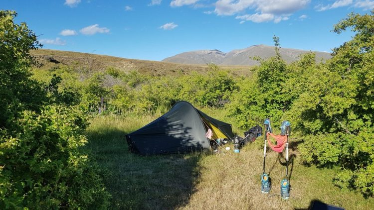 Te Araroa Trail Day 92 - Wild camping after Birchwood car park