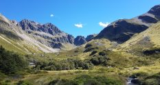 Te Araroa Trail Day 122 - Upper Travers hut towards the Travers Saddle