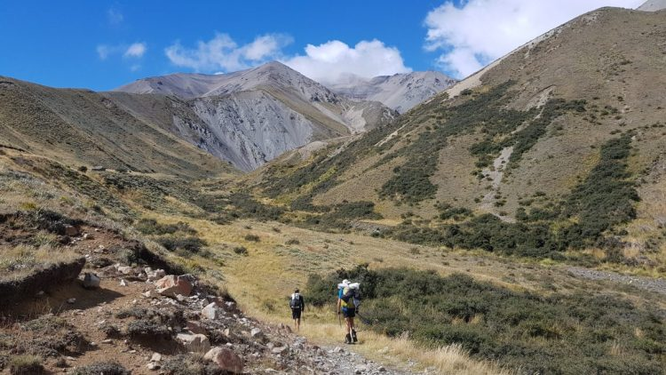 Te Araroa Trail Day 136 - A-frame hut to Comyns hut