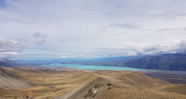 Te Araroa Trail Day 139 - Stagg Saddle towards Lake Tekapo