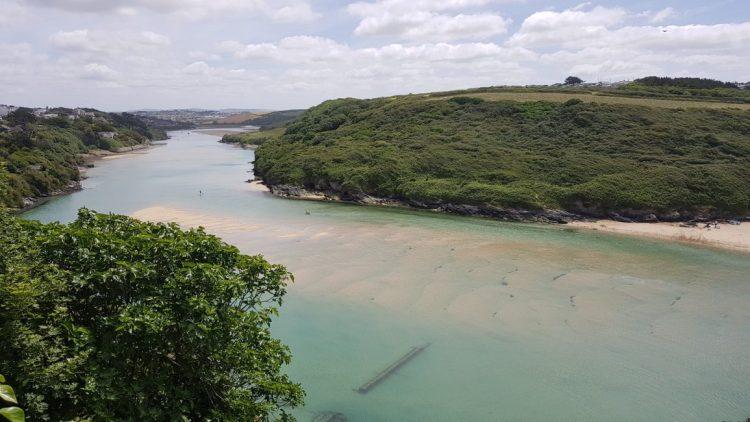 The Gannel estuary