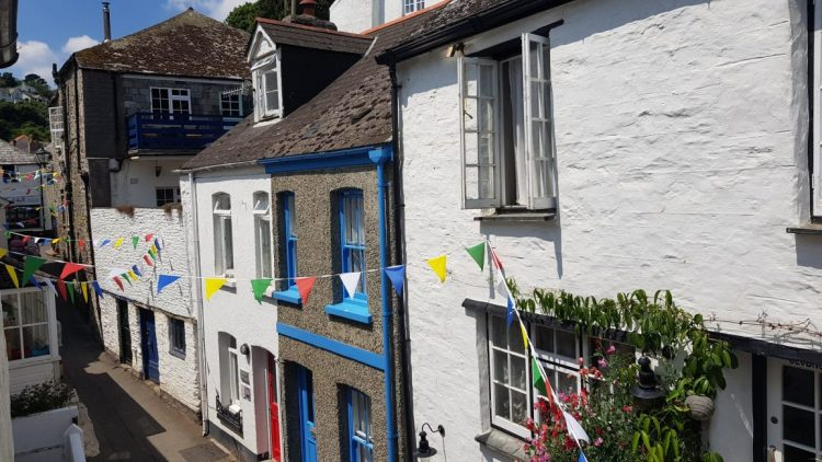 The view from my room in Polperro