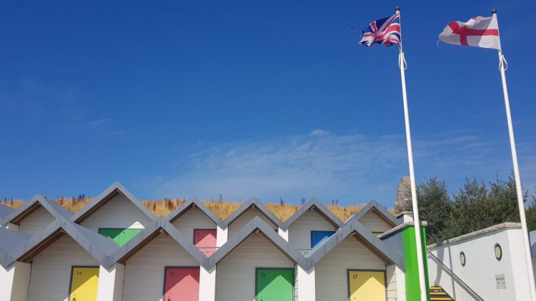 Beach huts at Swanage