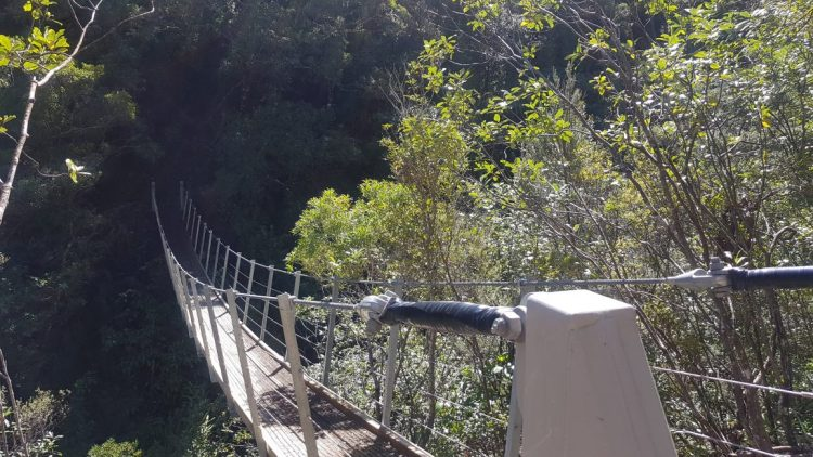 Pinnacles swingbridge
