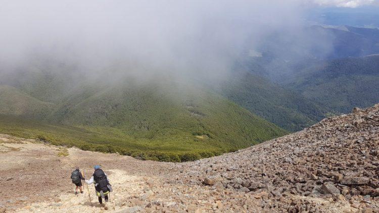 Scree slope Mount Rintoul