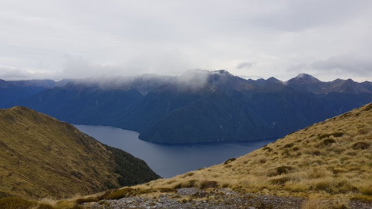 Lake Te Anau from the Kepler Track