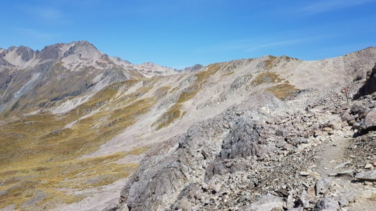 Angelus Peak in the distance
