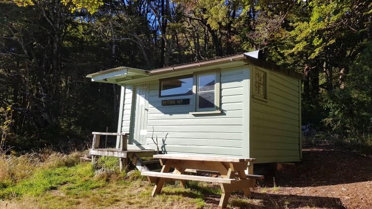 Myttons hut Lake Peel track Kahurangi