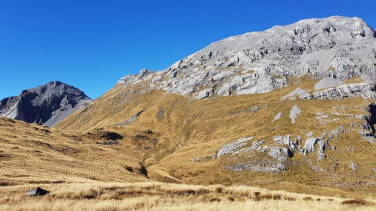 My beautiful wild camp near Mount Owen - overlooking Mount Bell
