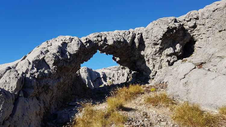 Nice little rock arch up Mount Owen