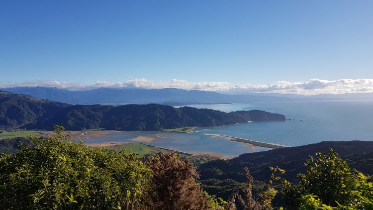 Wainui Bay from the Abel Tasman Inland Track