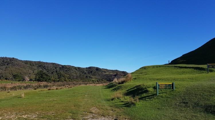 Wharariki Road End up the Puponga Farm Track
