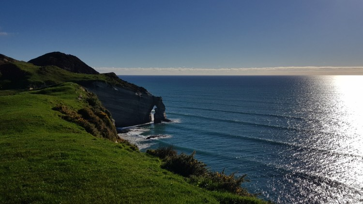 Beautiful waves at Cape Farewell