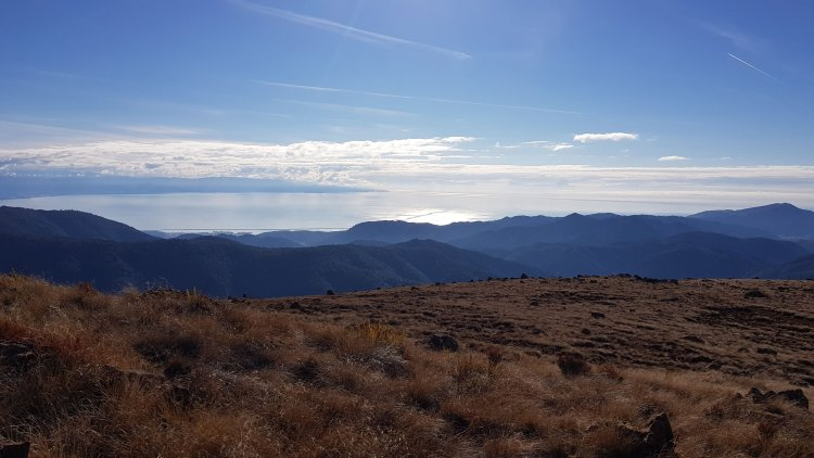Great views over Tasman Bay from Dun Mountain