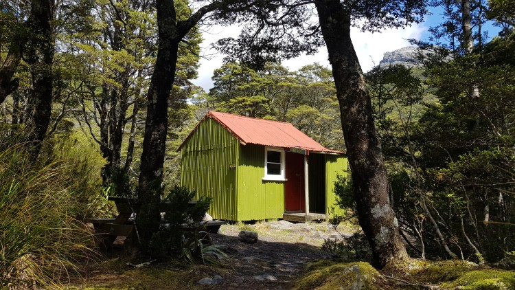 Cobb hut - Kahurangi National Park