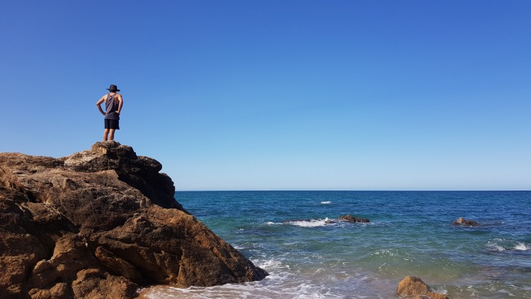 Exploring Waiharakeke Bay