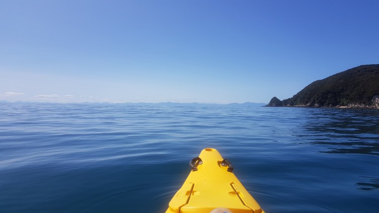 Flat calm from Anapai Bay to Tōtaranui