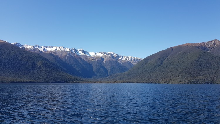 Lake Rotoroa Travers Range Mount Misery