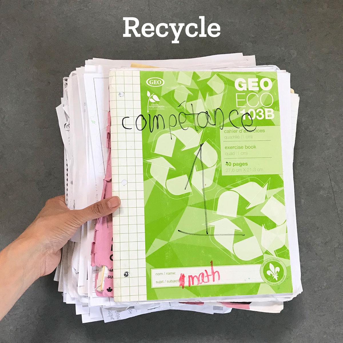 School Waste Tiny Trash Can