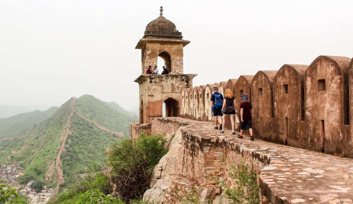 Backpacking Jaipur with kids