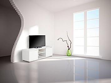 meuble tv sorriso blanc 2 portes 2 niches kshfjxhgjdg
