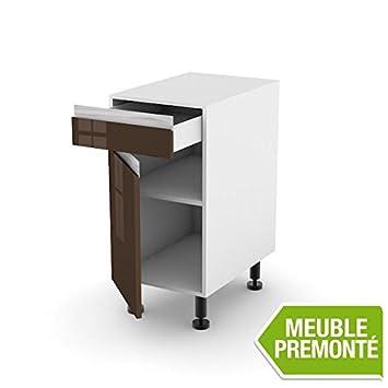 meuble bas 40cm 1 tiroir porte 70x40 tendance work thjkkjhgfjuhygy