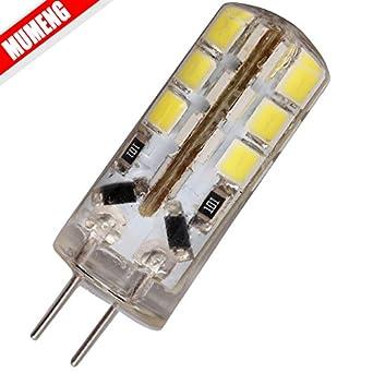 10x g4 3w 24 smd 2835 led ampoule lampe dc12v led ampoule led ampoule g4 12v de projecteur a lampe en cristal g4 super bright de 260lm led blanc chaud huge discount cvbnmuiop
