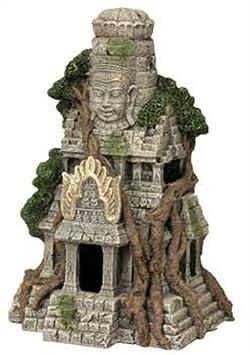 resin ornament cambodian temple ruins kmnbvcxdfgvs