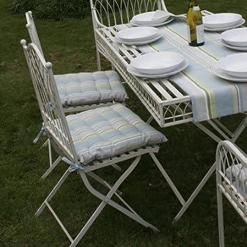 jardin fauteuil chaise pliante pliable tampa vert fonce en plastique