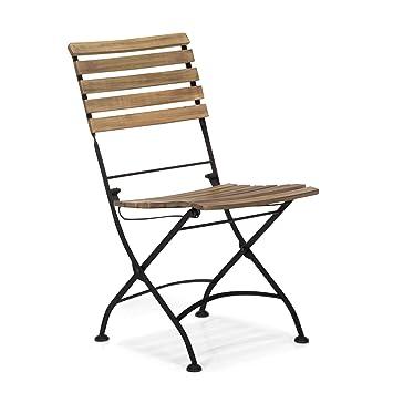 montego chaise en fer forge et acacia plante naturel alinea 60 0x86 fr shop
