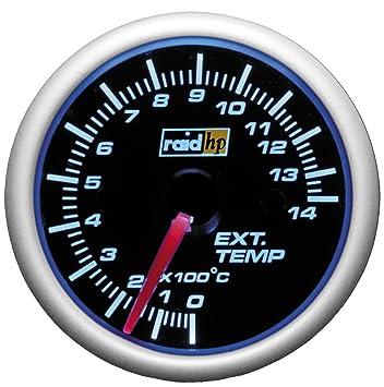 raid hp 660189 abgastemperaturanzeige zusatzinstrument night flight zrviltrb 20