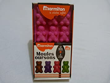 coffret moules silicone oursons selection marmiton rose price anything xcvgfdsdfa6