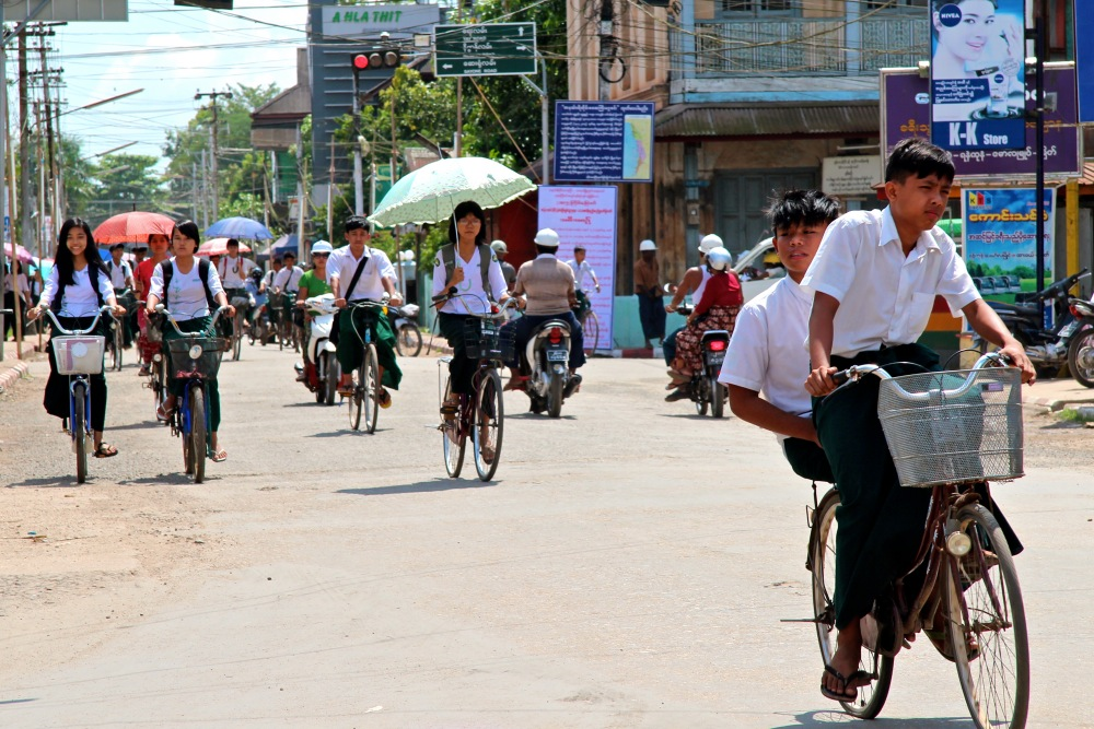 school kids Dawei 2