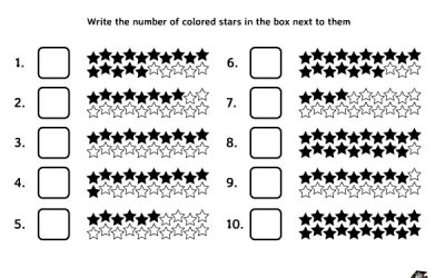Free Printable Math Worksheet Count And Write Numbers