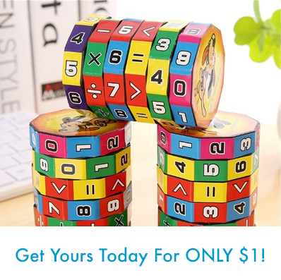 Math Numbers Magic Cube Educational Toy For Kids