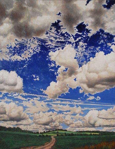 """Firmament,"" by Michele Harvey:  http://micheleharvey.com/%28medium%29_available.html#2"